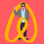 Airbnbでやって来るのは旅行者だけではない