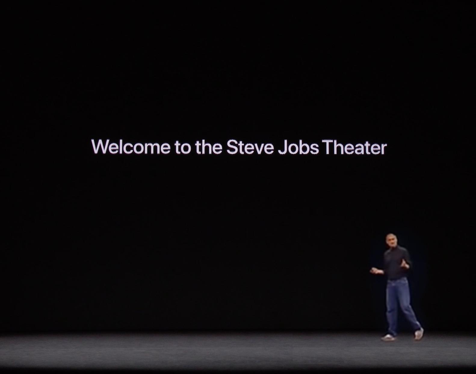 もしスティーブ ジョブズが 新発売のairpods Proのプレゼンをやっ
